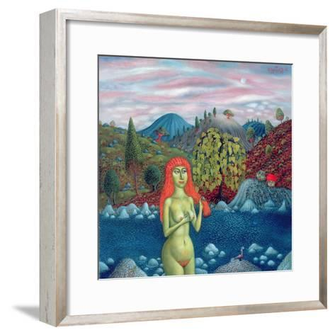 Susanna and the Elders, 1996-Tamas Galambos-Framed Art Print