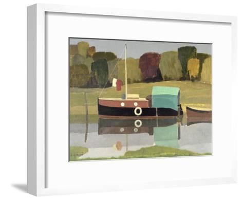 Still Water-Eric Hains-Framed Art Print