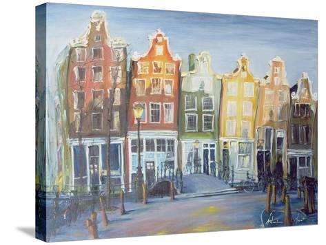 Houses of Amsterdam, 1999-Antonia Myatt-Stretched Canvas Print