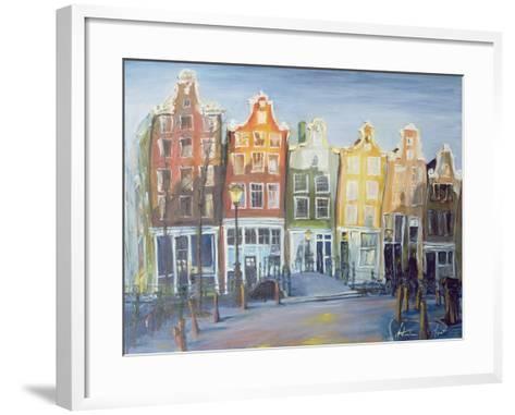 Houses of Amsterdam, 1999-Antonia Myatt-Framed Art Print