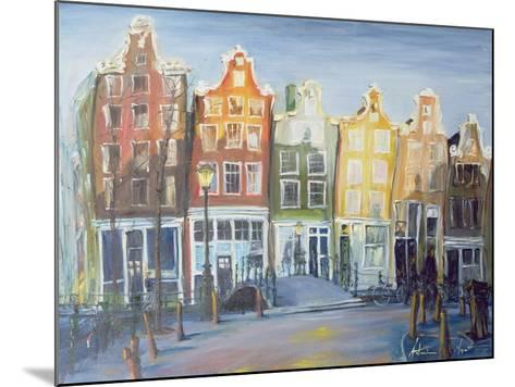 Houses of Amsterdam, 1999-Antonia Myatt-Mounted Giclee Print
