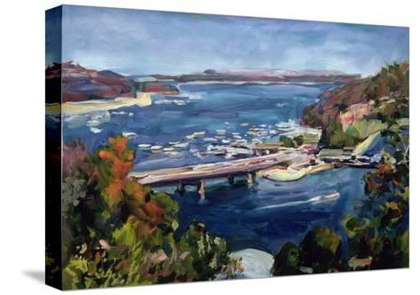 The Sydney Split, 1995-Ted Blackall-Stretched Canvas Print