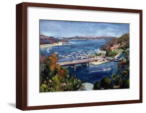 The Sydney Split, 1995-Ted Blackall-Framed Art Print