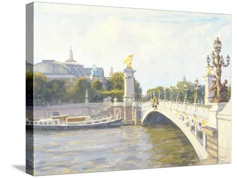 Pont Alexandre III, Paris-Julian Barrow-Stretched Canvas Print