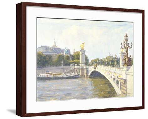 Pont Alexandre III, Paris-Julian Barrow-Framed Art Print