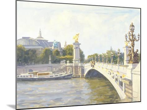 Pont Alexandre III, Paris-Julian Barrow-Mounted Giclee Print