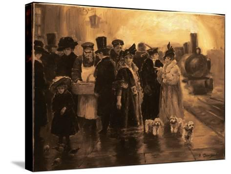 Anna Karenina-Yuri Denissov-Stretched Canvas Print