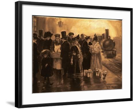 Anna Karenina-Yuri Denissov-Framed Art Print
