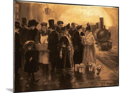 Anna Karenina-Yuri Denissov-Mounted Giclee Print