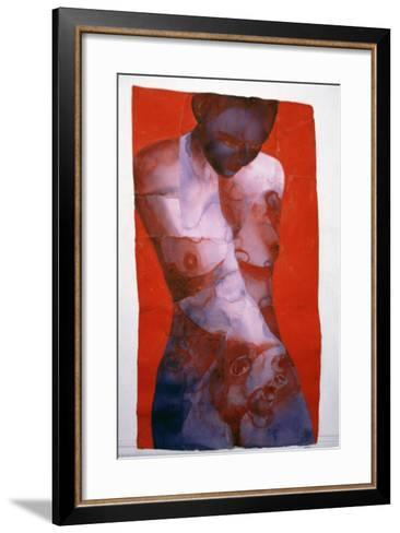 Rhythm Trader, 2001-Graham Dean-Framed Art Print