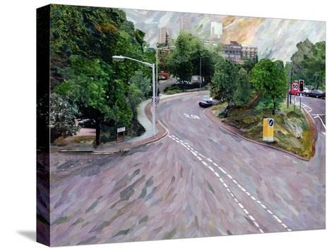 View from a Flyover-Ellen Golla-Stretched Canvas Print