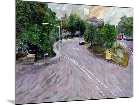 View from a Flyover-Ellen Golla-Mounted Giclee Print