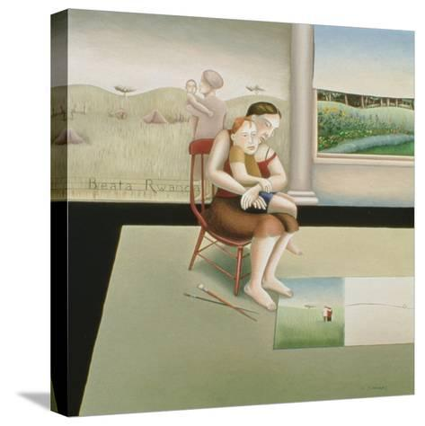 Beata Rwanda 3-Caroline Jennings-Stretched Canvas Print
