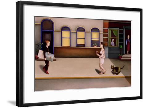 Street 2-Caroline Jennings-Framed Art Print