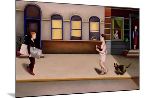 Street 2-Caroline Jennings-Mounted Giclee Print