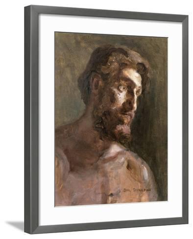 Christ-Gail Schulman-Framed Art Print