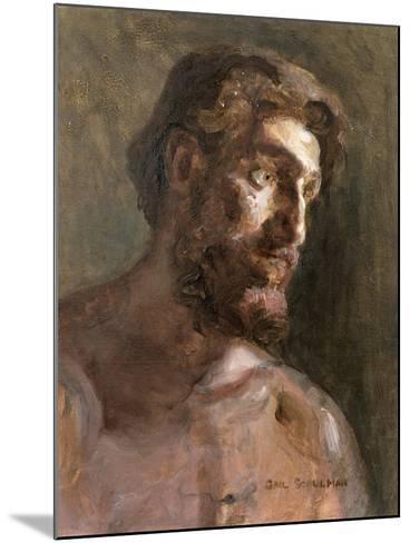 Christ-Gail Schulman-Mounted Giclee Print