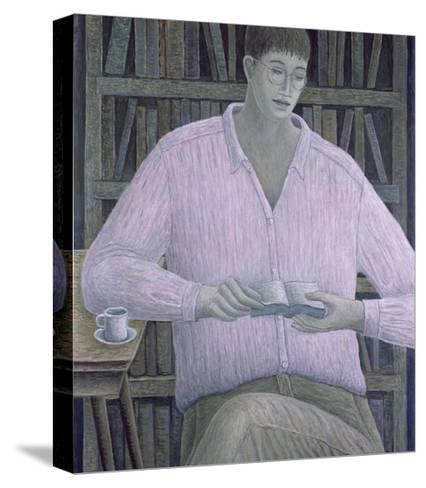 Man Reading, 1998-Ruth Addinall-Stretched Canvas Print