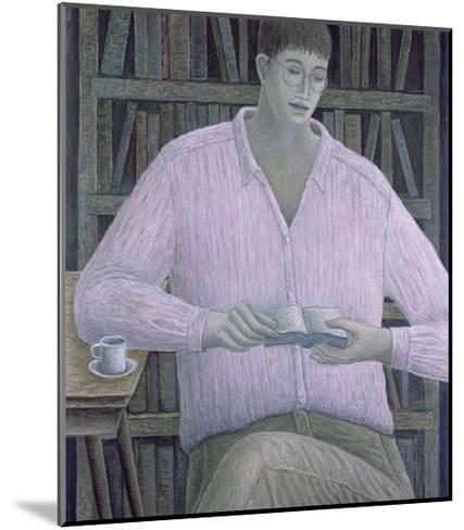 Man Reading, 1998-Ruth Addinall-Mounted Giclee Print