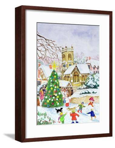 Village Festivities, 2005-Tony Todd-Framed Art Print