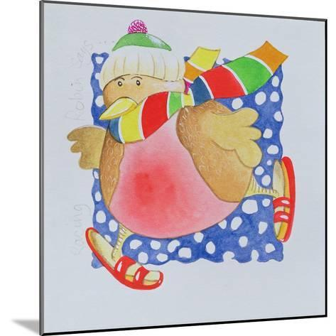 Snow Robin, 2005-Tony Todd-Mounted Giclee Print
