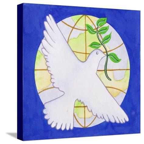 Dove of Peace, 2005-Tony Todd-Stretched Canvas Print