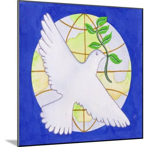 Dove of Peace, 2005-Tony Todd-Mounted Giclee Print