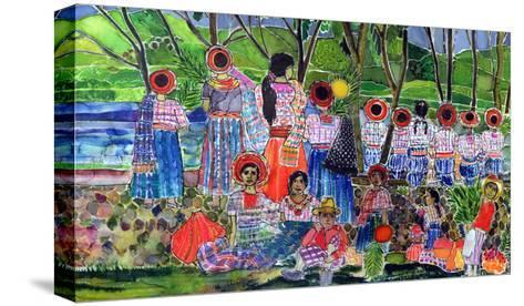 Lake Atitlan, 2005-Hilary Simon-Stretched Canvas Print