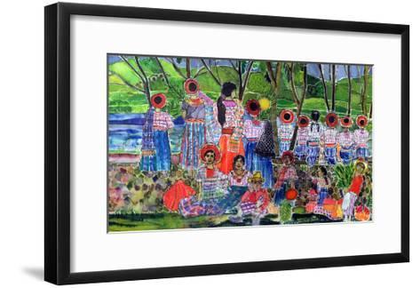 Lake Atitlan, 2005-Hilary Simon-Framed Art Print