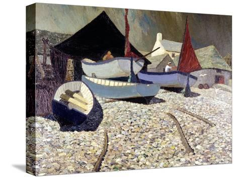 Cadgwith, the Lizard-Eric Hains-Stretched Canvas Print