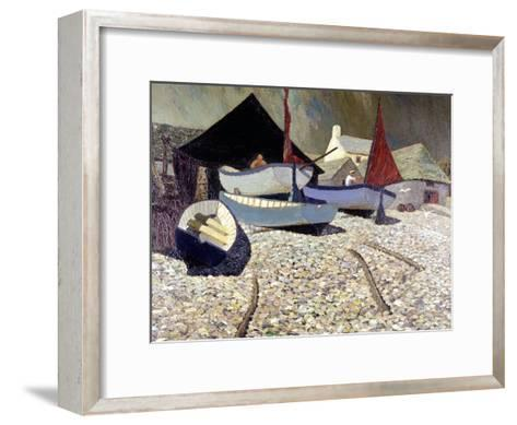 Cadgwith, the Lizard-Eric Hains-Framed Art Print
