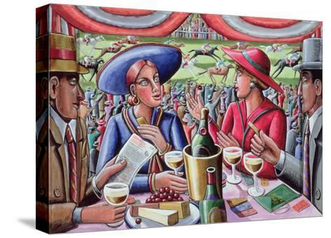 A Day at the Races, 2000-P.J. Crook-Stretched Canvas Print