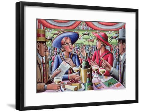 A Day at the Races, 2000-P.J. Crook-Framed Art Print
