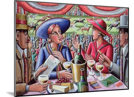 A Day at the Races, 2000-P.J. Crook-Mounted Giclee Print
