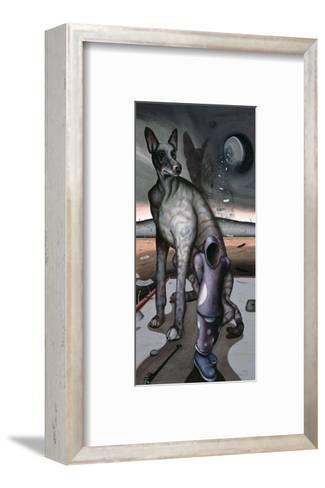 Anubis and Charon, 1997-Chris Gollon-Framed Art Print