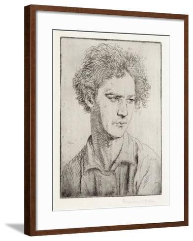 Jacob Epstein-Augustus Edwin John-Framed Art Print