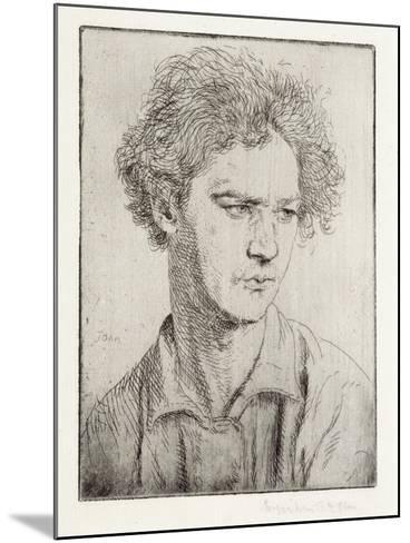 Jacob Epstein-Augustus Edwin John-Mounted Giclee Print