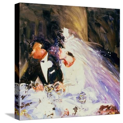 The Bride and Groom, 1983-Ted Blackall-Stretched Canvas Print