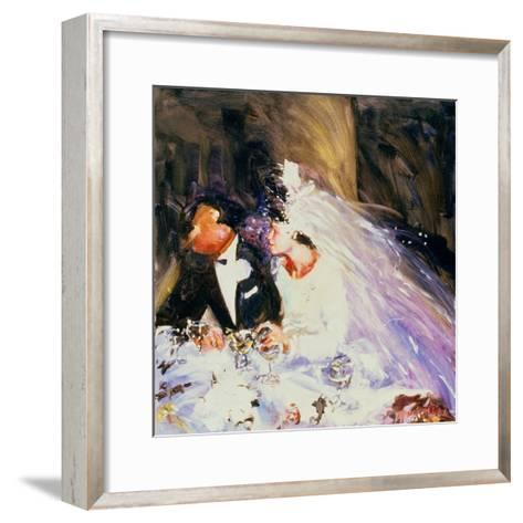 The Bride and Groom, 1983-Ted Blackall-Framed Art Print