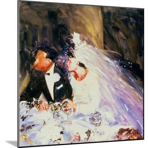 The Bride and Groom, 1983-Ted Blackall-Mounted Giclee Print