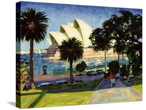 Sydney Opera House, Pm, 1990-Ted Blackall-Stretched Canvas Print