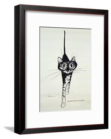 Move Quietly, C.1962-George Adamson-Framed Art Print