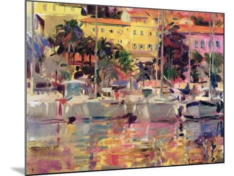 Golden Harbour Vista-Peter Graham-Mounted Giclee Print