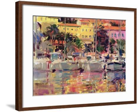 Golden Harbour Vista-Peter Graham-Framed Art Print