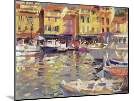 Harbour at Cassis-Peter Graham-Mounted Giclee Print