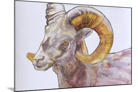 American Long Horn, 2004-Lou Gibbs-Mounted Giclee Print
