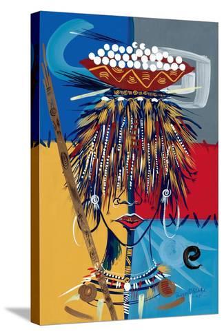 African Beauty 2, 2005-Oglafa Ebitari Perrin-Stretched Canvas Print