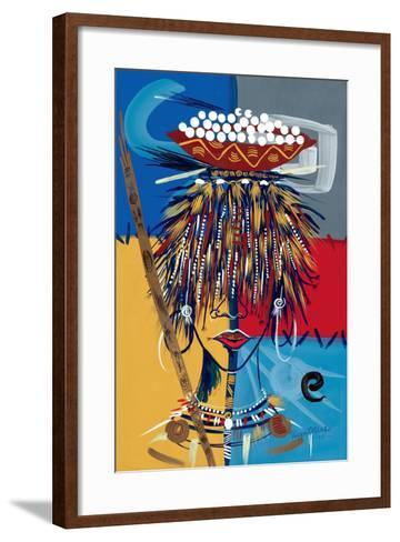 African Beauty 2, 2005-Oglafa Ebitari Perrin-Framed Art Print