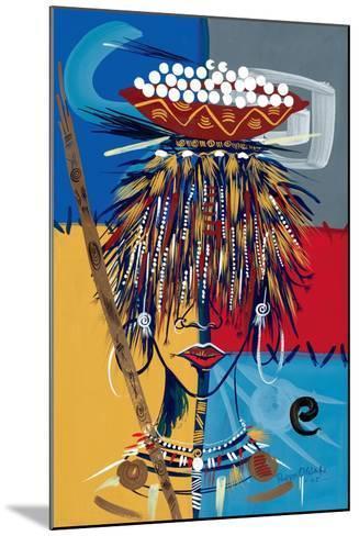 African Beauty 2, 2005-Oglafa Ebitari Perrin-Mounted Giclee Print
