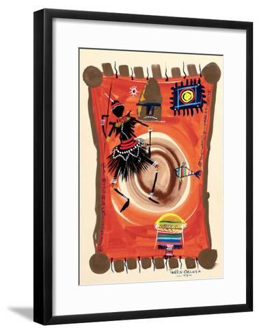 The Black Dance 2, 2003-Oglafa Ebitari Perrin-Framed Art Print